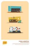 Un cierto sistema de los muebles Fotografía de archivo libre de regalías