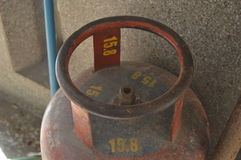 Un cilindro Fotografía de archivo