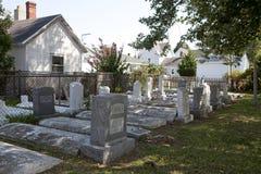 Un cimitero, Chesapeake Immagini Stock Libere da Diritti