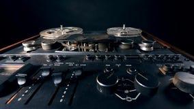 Un cinta-tipo trabajos del jugador de música almacen de video