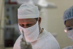 Un cirujano real fotografía de archivo libre de regalías