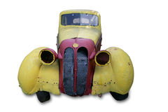 Un coche antiguo viejo Foto de archivo libre de regalías