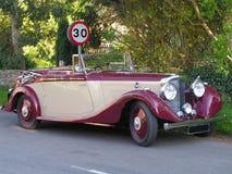 Un coche clásico. Imagen de archivo libre de regalías