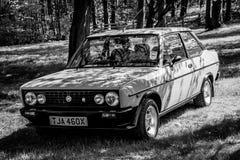 Un coche de deportes clásico de Fiat Abarth Imágenes de archivo libres de regalías