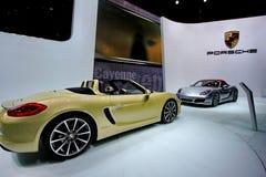 Un coche del boxster de Porsche Foto de archivo libre de regalías