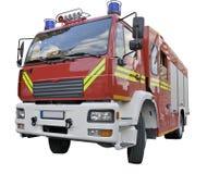 Un coche del rescate del fuego Fotografía de archivo libre de regalías