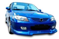 Un coche juguetón moderno imagen de archivo libre de regalías