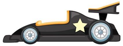 Un coche negro Imagen de archivo