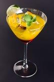 Un cocktail arancio rosso Immagini Stock