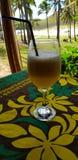Un cocktail di frutta, isola di pasqua, Cile fotografie stock libere da diritti