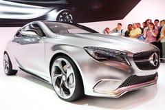 Un-Codice categoria di concetto di Mercedes-Benz Immagini Stock Libere da Diritti