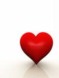 Un coeur avec l'espace de copie Photographie stock
