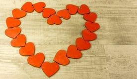 Un coeur rouge Photographie stock