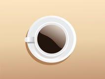 Un coffeecup agradable stock de ilustración