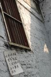 Un coin de la maison antique photo stock