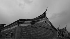 un coin de la vieille maison photographie stock libre de droits
