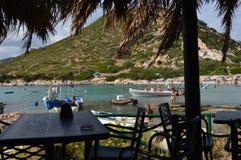 Un coin du paradis en île magnifique de la Sardaigne photos libres de droits