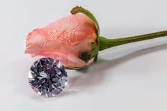 Un colgante de la luz del brillo del diamante Fotografía de archivo libre de regalías