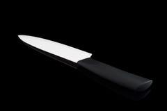 Un coltello ceramico Immagini Stock