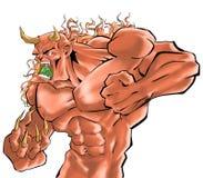 Un combattente del demone Fotografia Stock
