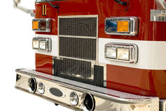 Un comitato del camion dei vigili del fuoco Fotografie Stock Libere da Diritti
