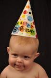 un compleanno di 6 mesi Fotografie Stock Libere da Diritti