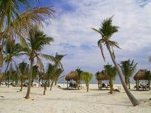 Un complejo playero en Cancun fotos de archivo