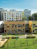 Un composé résidentiel moderne kindergarten photo stock