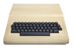 Computer isolato degli anni 80 dell'annata Immagini Stock