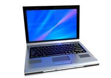 Un computer portatile moderno Immagine Stock