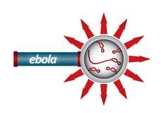 Un concept épidémiologique Photo stock