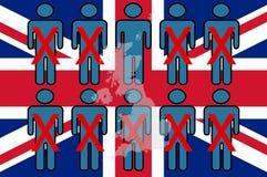Un concepto del voto conservador BRITÁNICO de la dirección foto de archivo libre de regalías