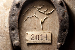 un concetto di 2014 anni Fotografie Stock