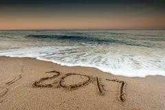 Un concetto di 2017 nuovi anni Fotografie Stock