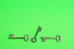 Un confine delle chiavi Fotografia Stock