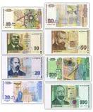 Un conjunto de dinero búlgaro foto de archivo