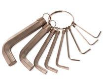 Un conjunto de llaves de maleficio. Imágenes de archivo libres de regalías