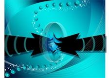 Un contatto di due frecce Immagine Stock