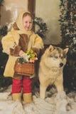 Un conte de fées de Noël Image libre de droits