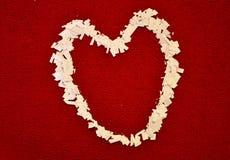 Un corazón Imagen de archivo libre de regalías