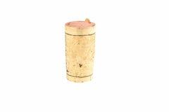 Un corcho del vino grande Foto de archivo libre de regalías