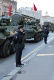 Un cordon de police Image libre de droits