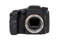 Un corpo della fotocamera di DSLR senza lente fotografia stock libera da diritti