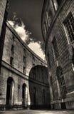 Un corridoio di potere fotografie stock