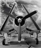 Corsario de F4U: Armado y peligroso Fotos de archivo
