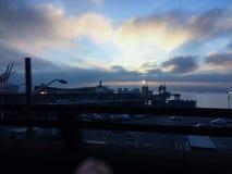 Un coucher du soleil Photos libres de droits