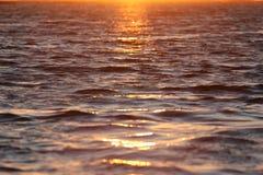 Un coucher du soleil différent Photo libre de droits