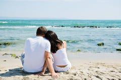 Un couple dans l'amour Photographie stock