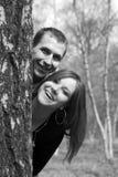 Un couple dans l'amour Image libre de droits