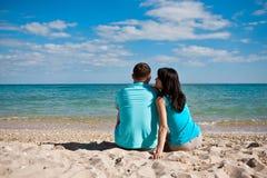 Un couple dans l'amour Photographie stock libre de droits